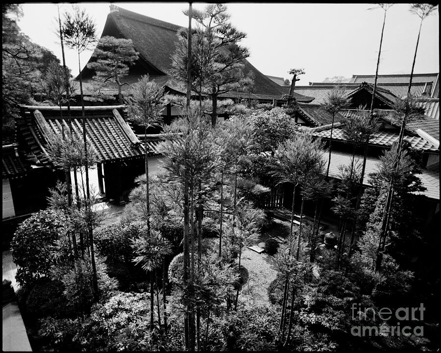 Kinkaku-ji Photograph - Heian Jingu Shrine Kyoto by Aldo Cervato