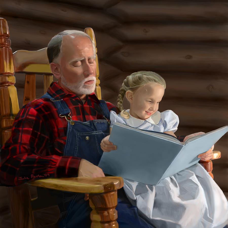 Tremendous Heidi And Grandfather Squirreltailoven Fun Painted Chair Ideas Images Squirreltailovenorg