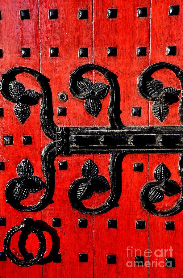 Heinz Chapel Photograph - Heinz Chapel Door Detail by Thomas R Fletcher