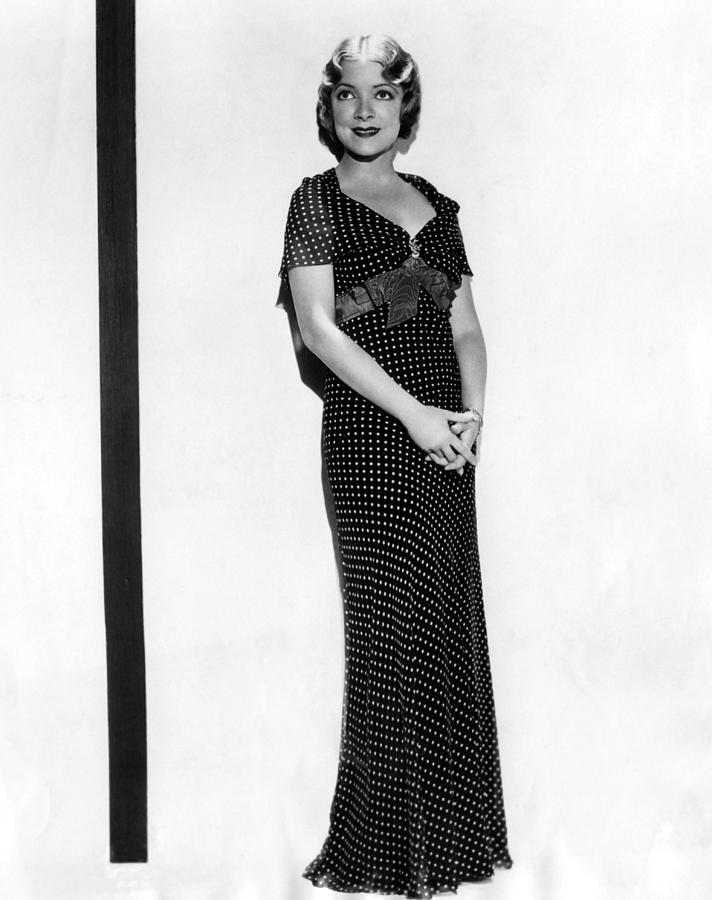 1930s Fashion Photograph - Helen Hayes, 1932 by Everett