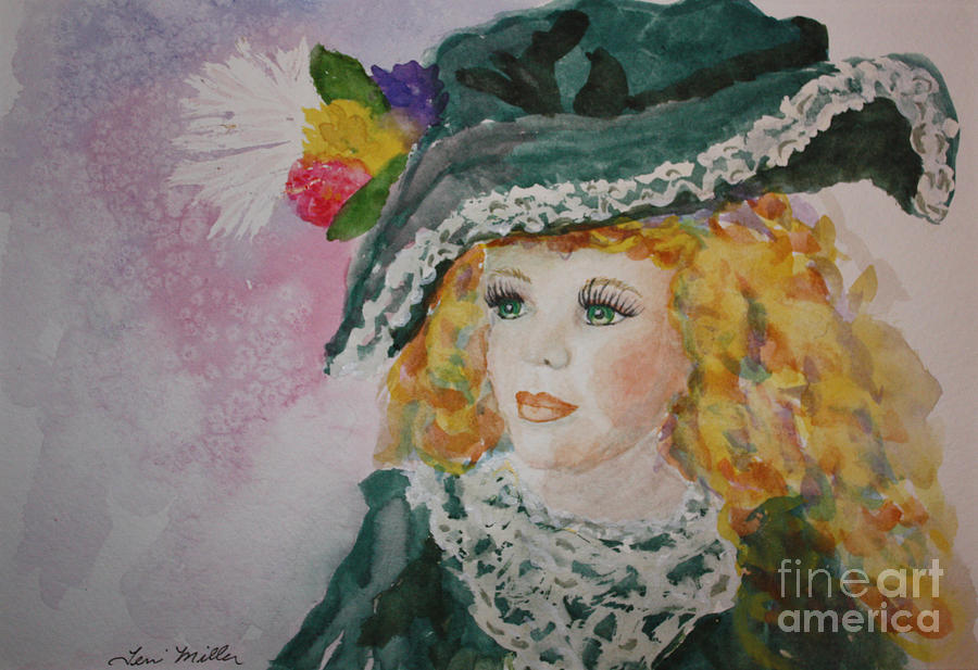 Dolls Painting - Hello Dolly by Terri Maddin-Miller