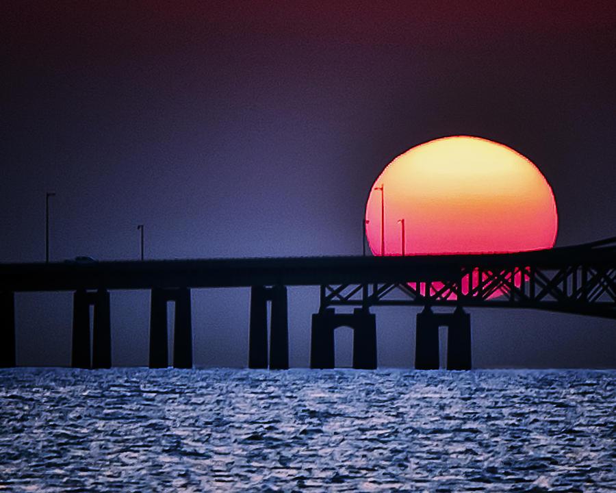 Sunrise Photograph - Hello Sun by Vicki Jauron