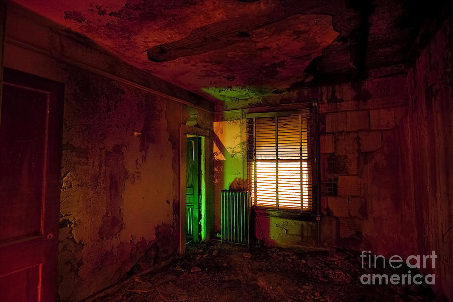 Night Time Photography Photograph - Hells Room Service by Keith Kapple