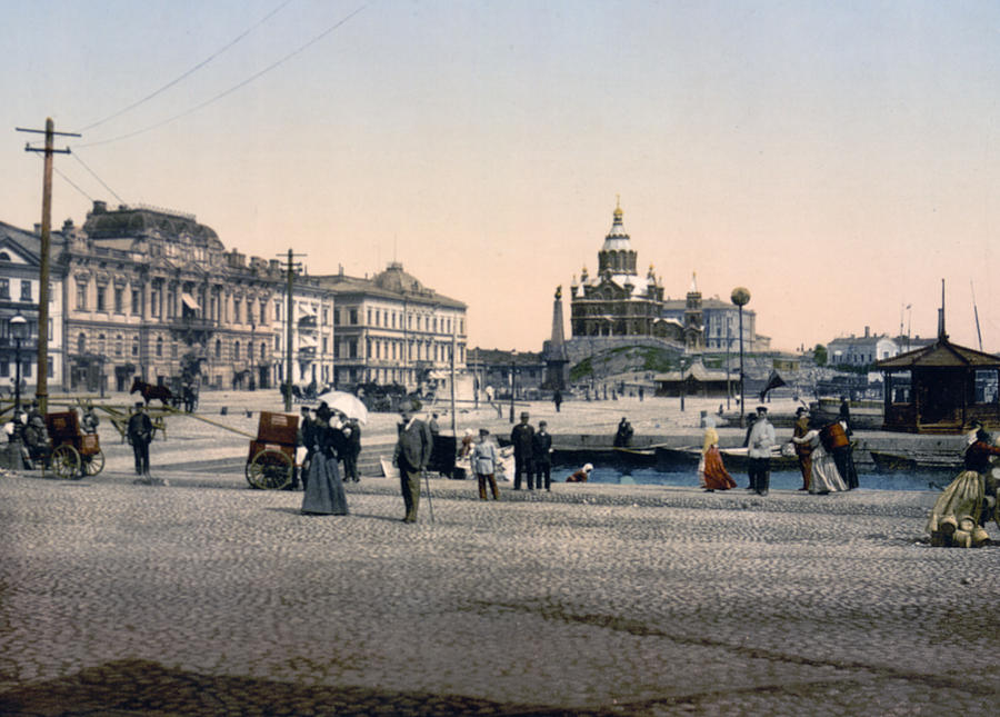 Helsinki Photograph - Helsinki Finland - Senate Square by Bode Stevenson