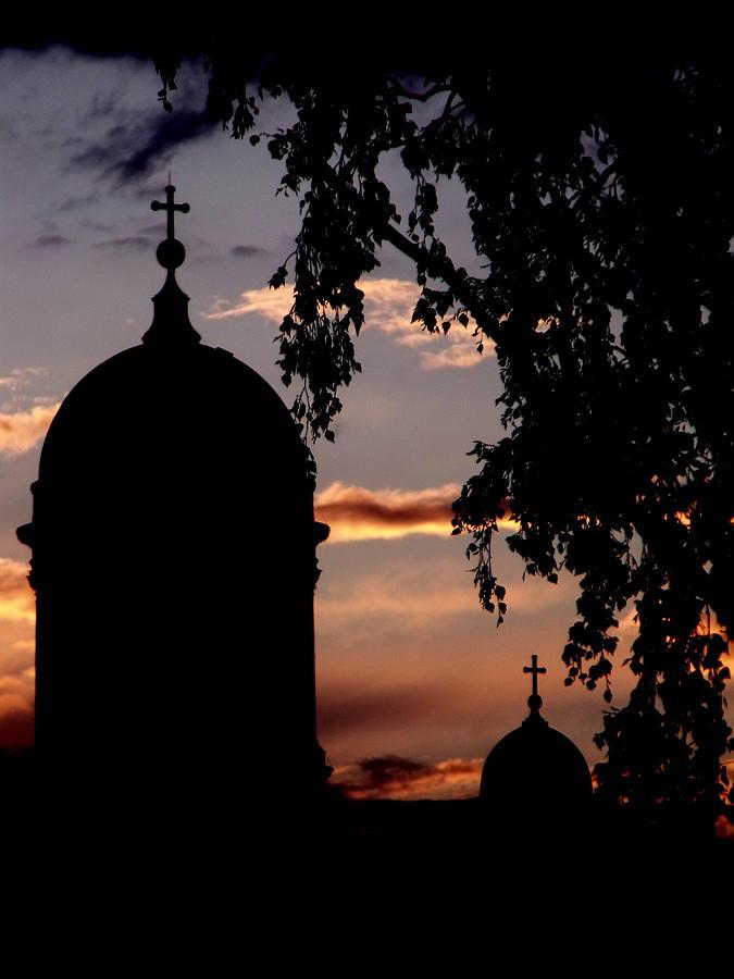 Helsinki Photograph - Helsinki Sunset by Lee Versluis