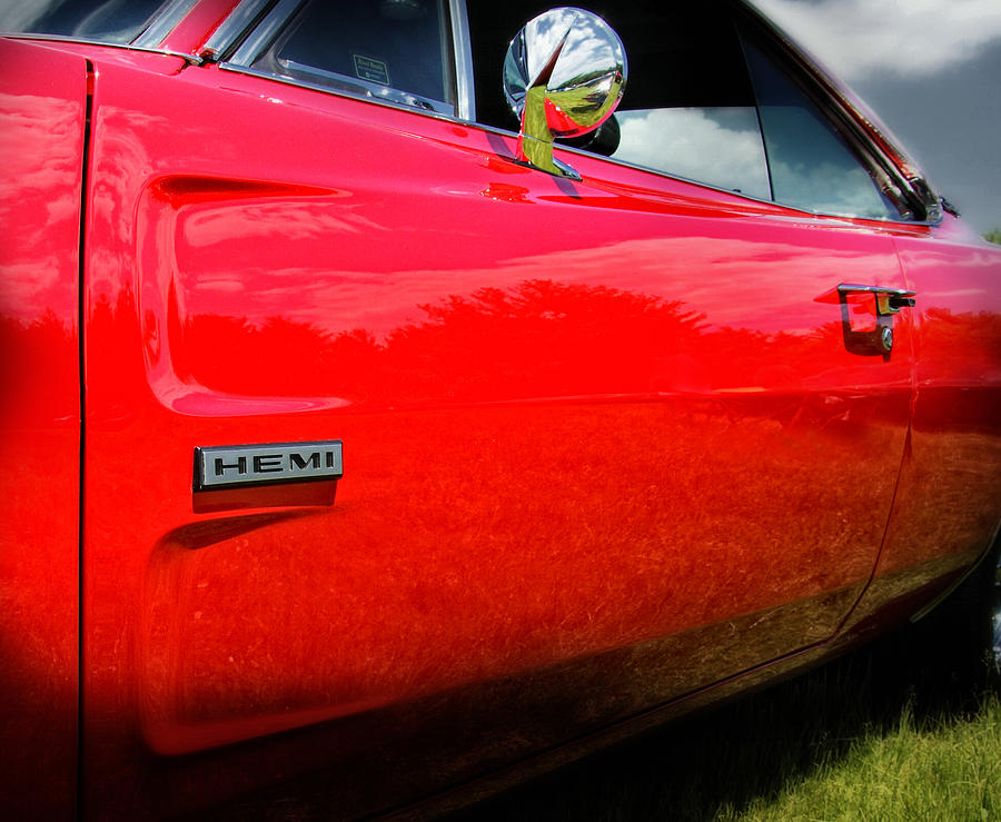 Hemi Photograph - Hemi Charger by Expressive Landscapes Fine Art Photography by Thom