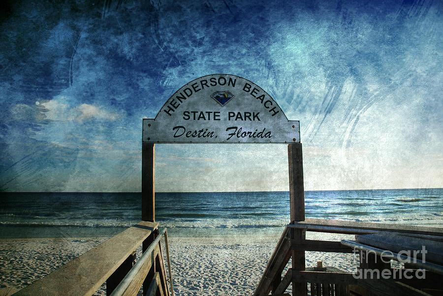 Henderson Beach Photograph - Henderson Beach State Park Florida by Susanne Van Hulst