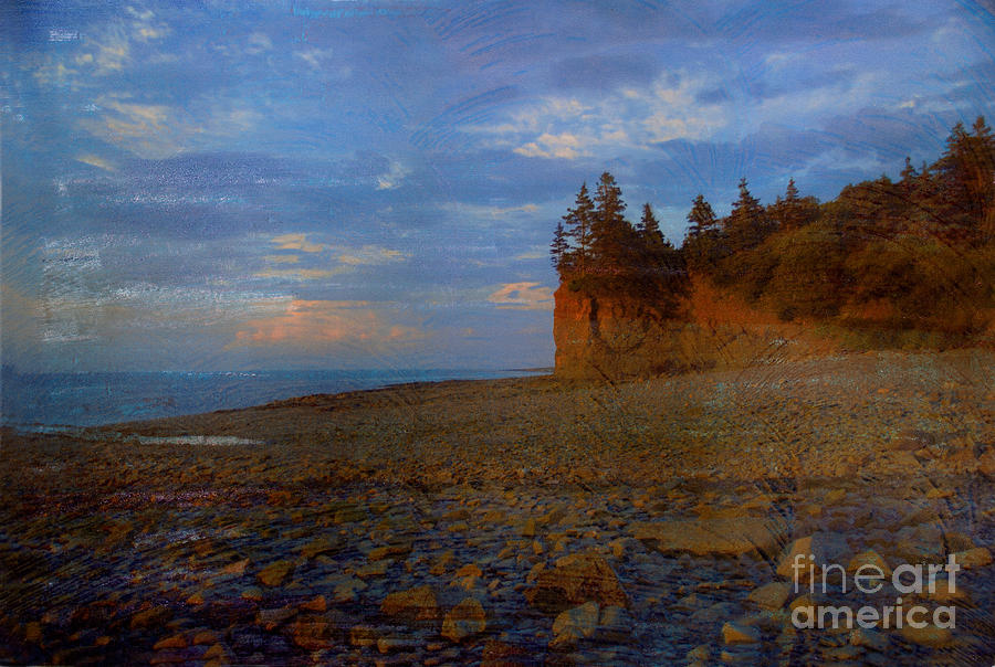 Henri's Beach by Bob Senesac
