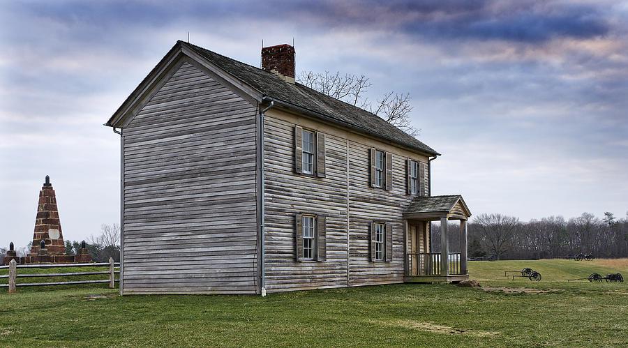 Virginia Photograph - Henry House At Manassas Battlefield - Virginia by Brendan Reals