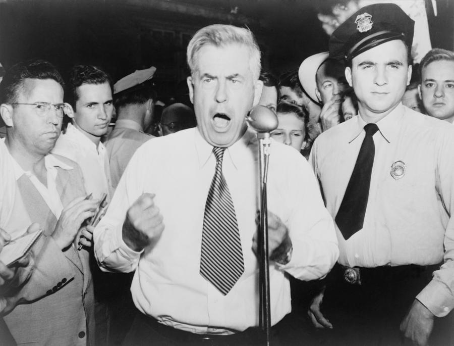 History Photograph - Henry Wallace 1888-1965, 1948 by Everett