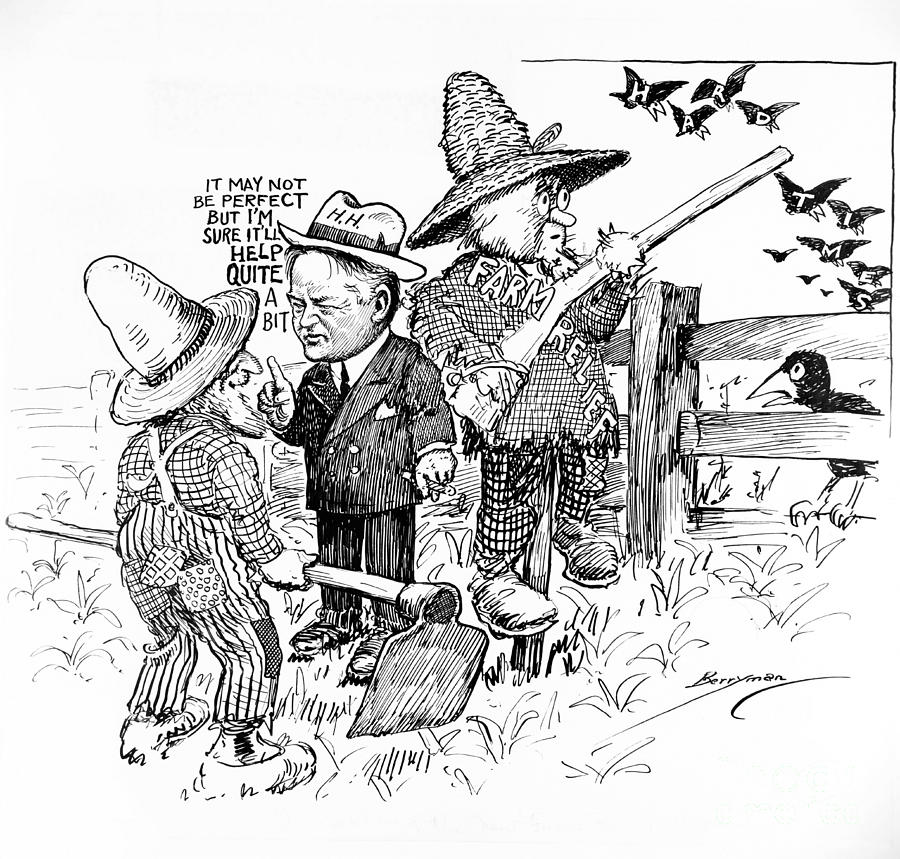 an overview and analysis of the presidency of herbert hoover A short summary of history sparknotes's the great depression instances of government corruption, such as the teapot dome scandal, were relatively frequent during harding's presidency herbert hoover.
