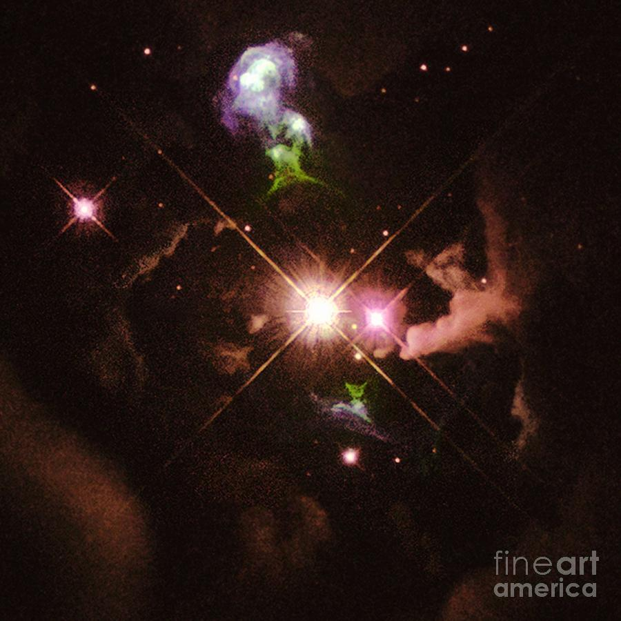 Herbig Haro Object Photograph - Herbig-haro 32 by Space Telescope Science Institute / NASA