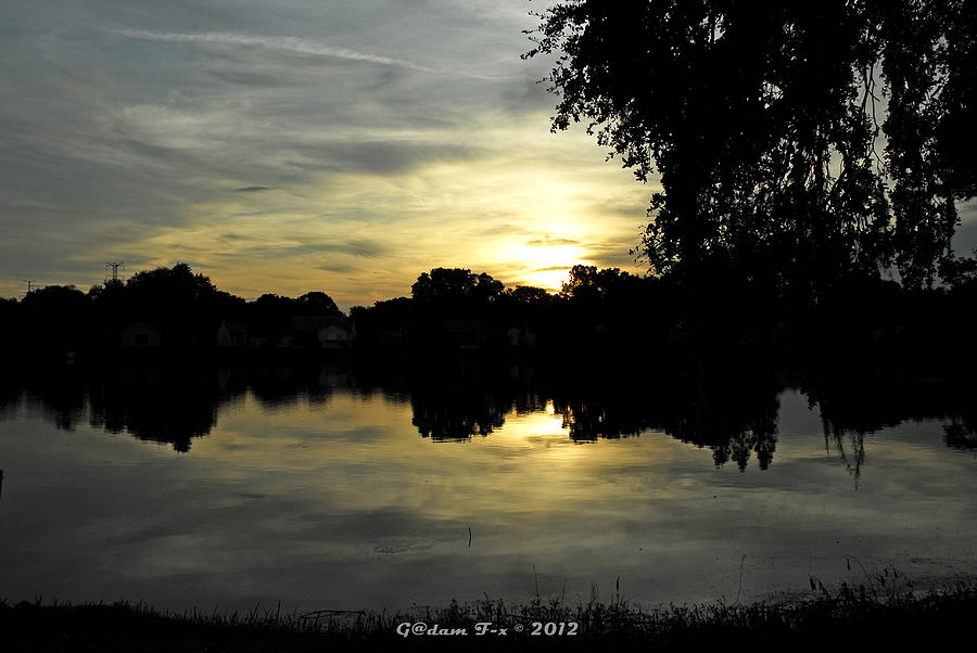 Print Photograph - Here Comes The Night 2nd  by G Adam Orosco