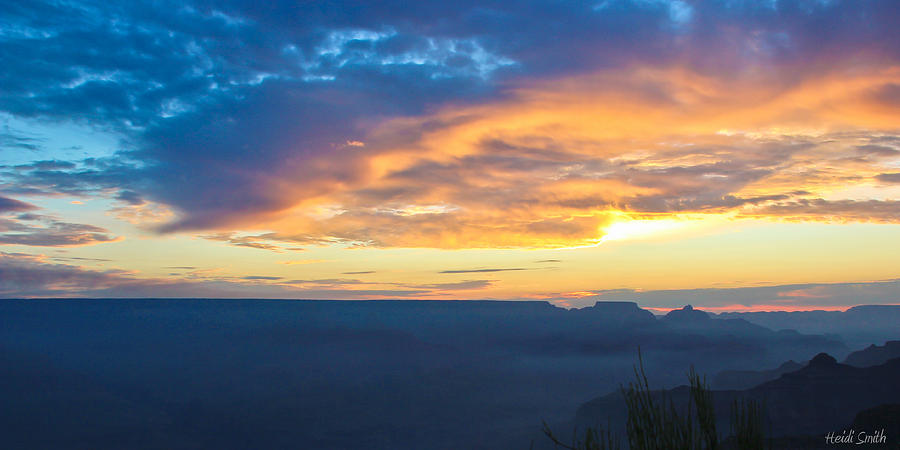 Grand Canyon Photograph - Here Comes The Sun by Heidi Smith