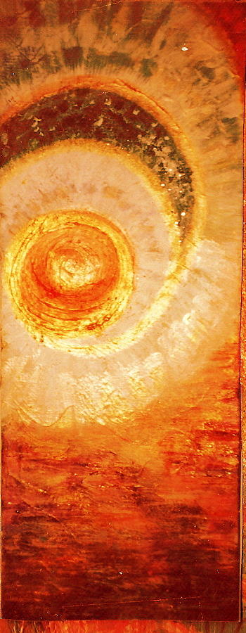 Sun Painting - Here Comes The Sun II by Anne-Elizabeth Whiteway