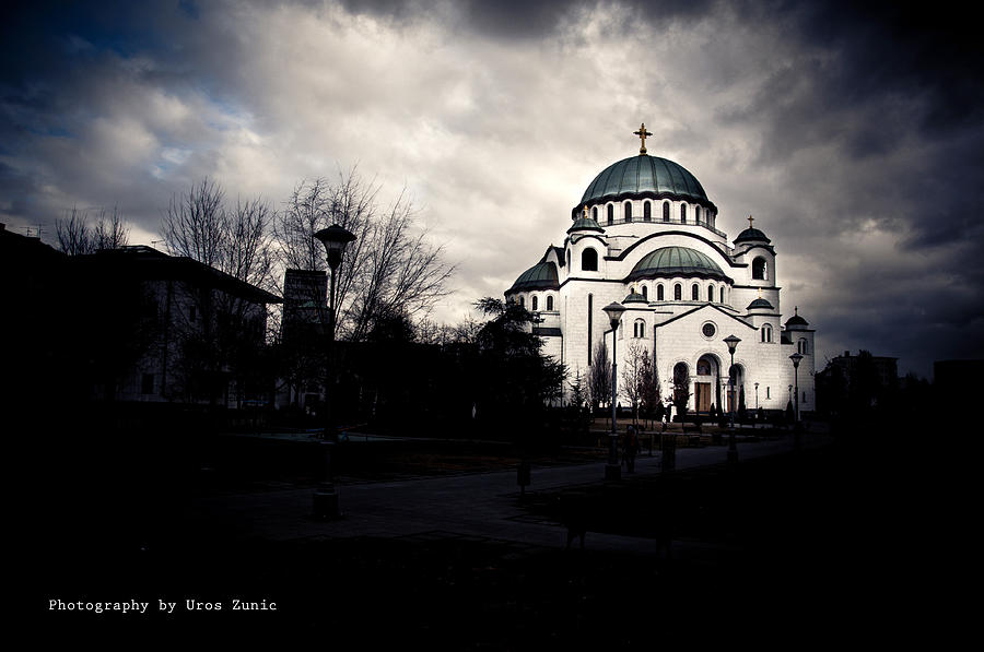 Church Photograph - Here We Come by Uros Zunic