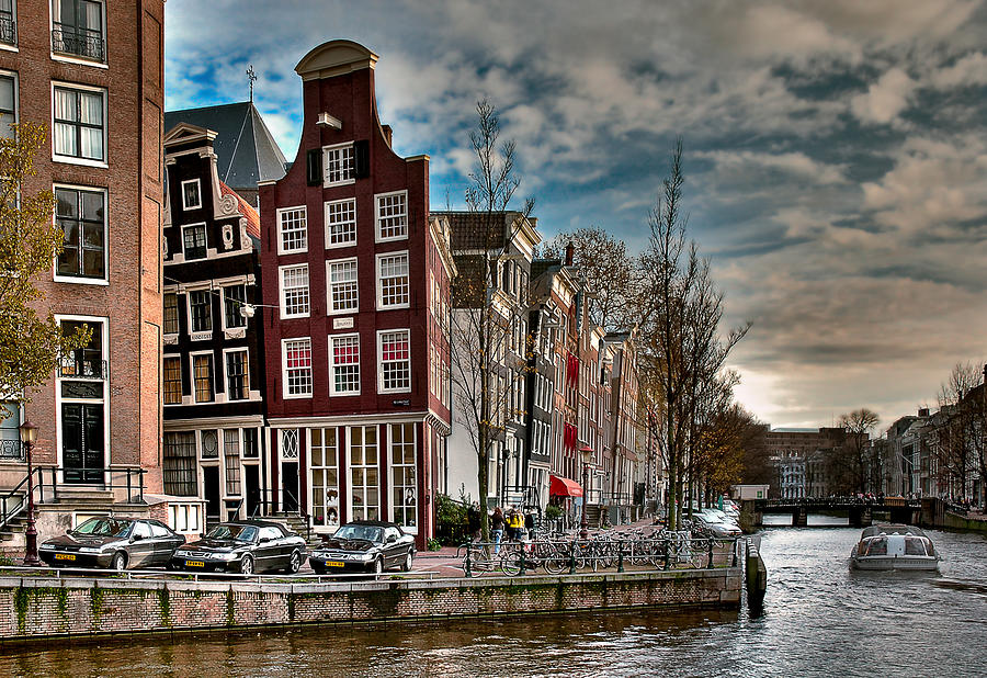herengracht beulingstraat amsterdam photograph by juan