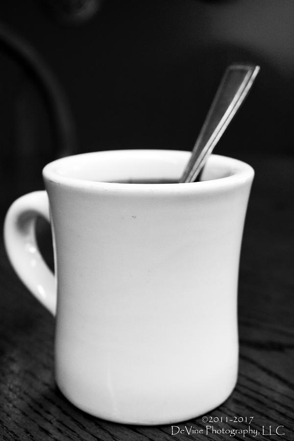 Coffee Cup Photograph - Heres Your Coffee Can I Get You Anything Else? by Stephani JeauxDeVine