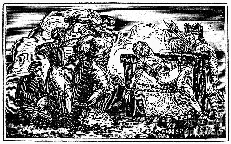 1550 Photograph - Heresy: Torture, C1550 by Granger