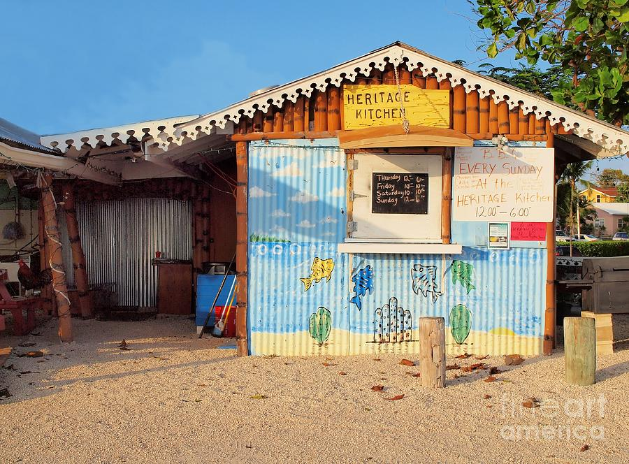 Cayman Islands Photograph - Heritage Kitchen Grand Cayman by James Brooker