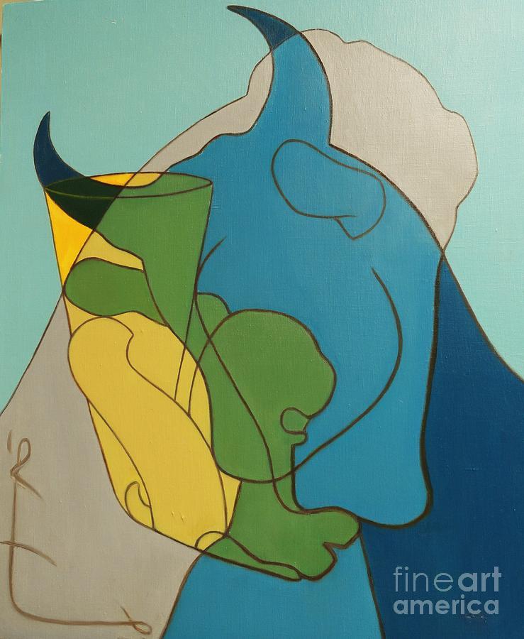 Horse Painting - Heritage  by Ziba Bastani