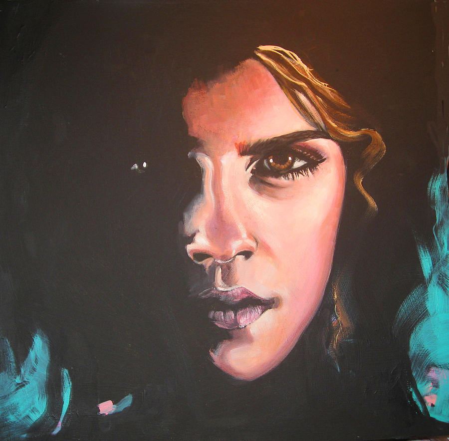 Hermione Painting - Hermione by Jean Alexander