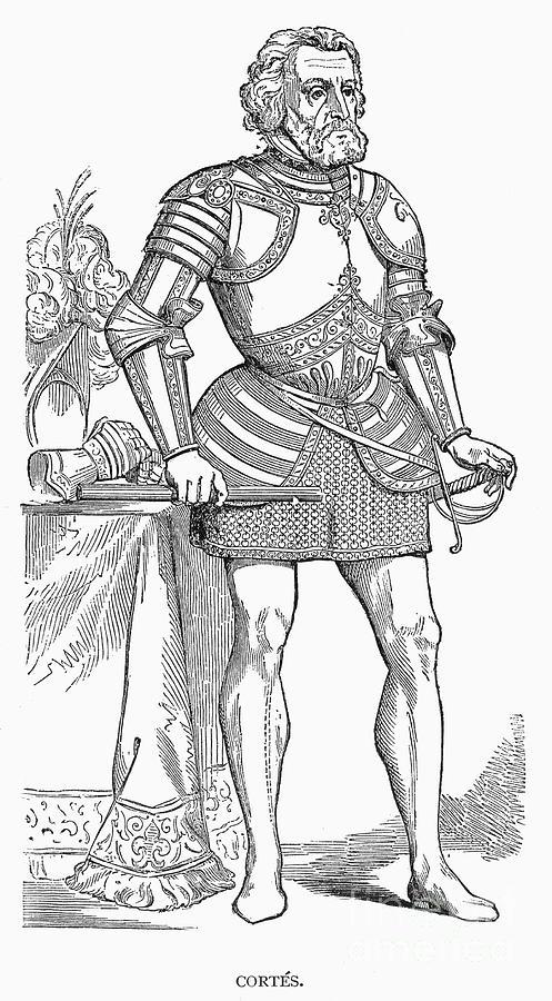 16th century photograph hernando cortes by granger
