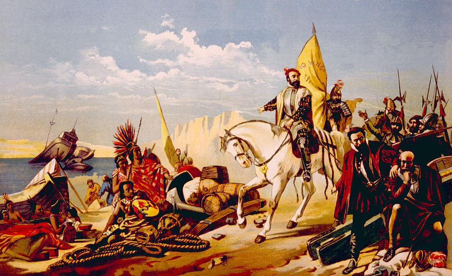 an overview of the 1520 conquer of the lands of mexico by hernando cortes Hernando cortes -spanish conquistador who defeated the aztecs and conquered mexico - a brash and determined spanish adventurer who crossed from hispaniola to mainland mexico with six hundred men, seventeen horses, and ten cannon.