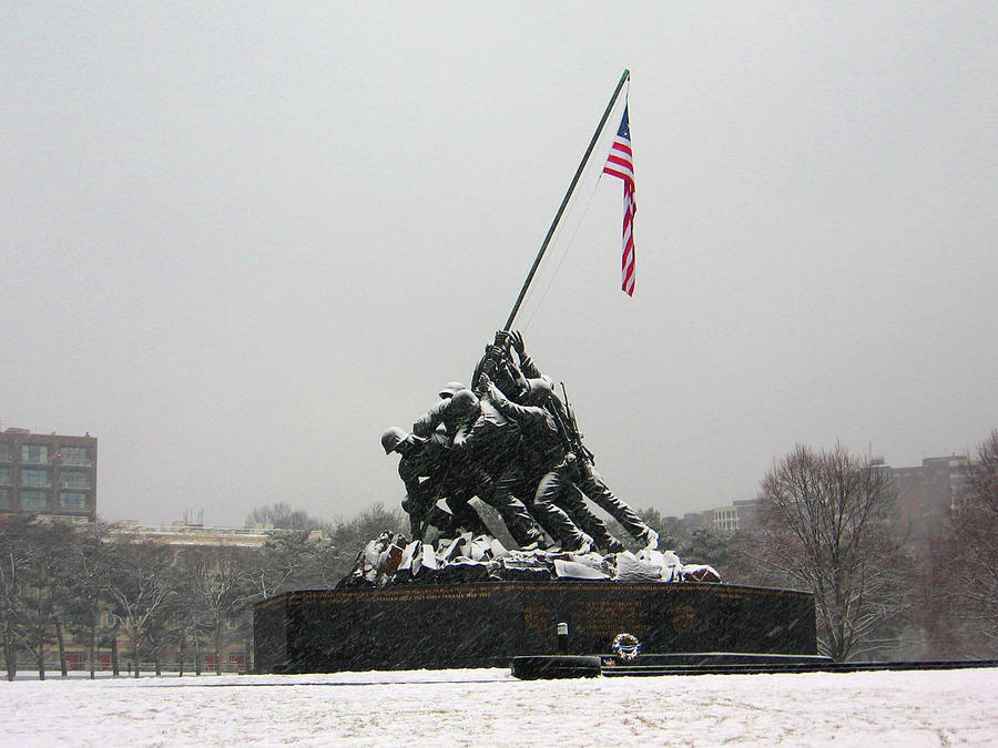 Arlington National Cemetery Photograph - Heroes And Patriots by Ed Golden