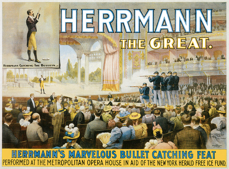 Herrmann The Great Painting - Herrmann The Great by Unknown