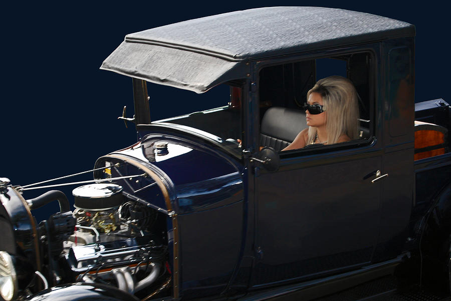 Hot Rod Photograph - Hers by Bill Dutting
