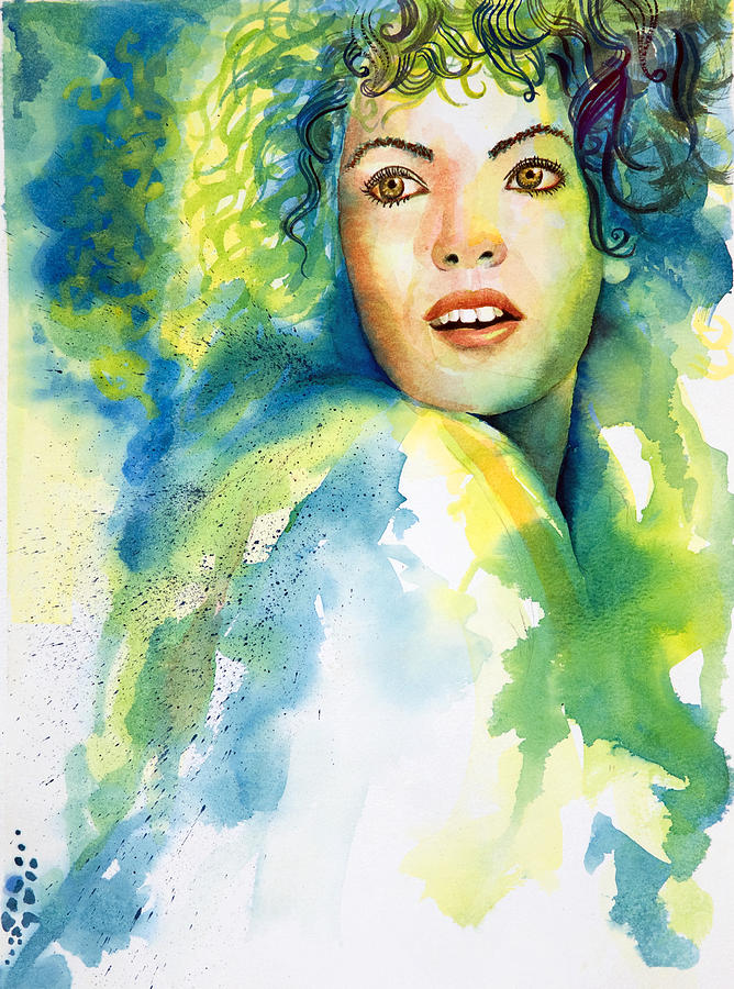 Herself Painting by Tony Macelli