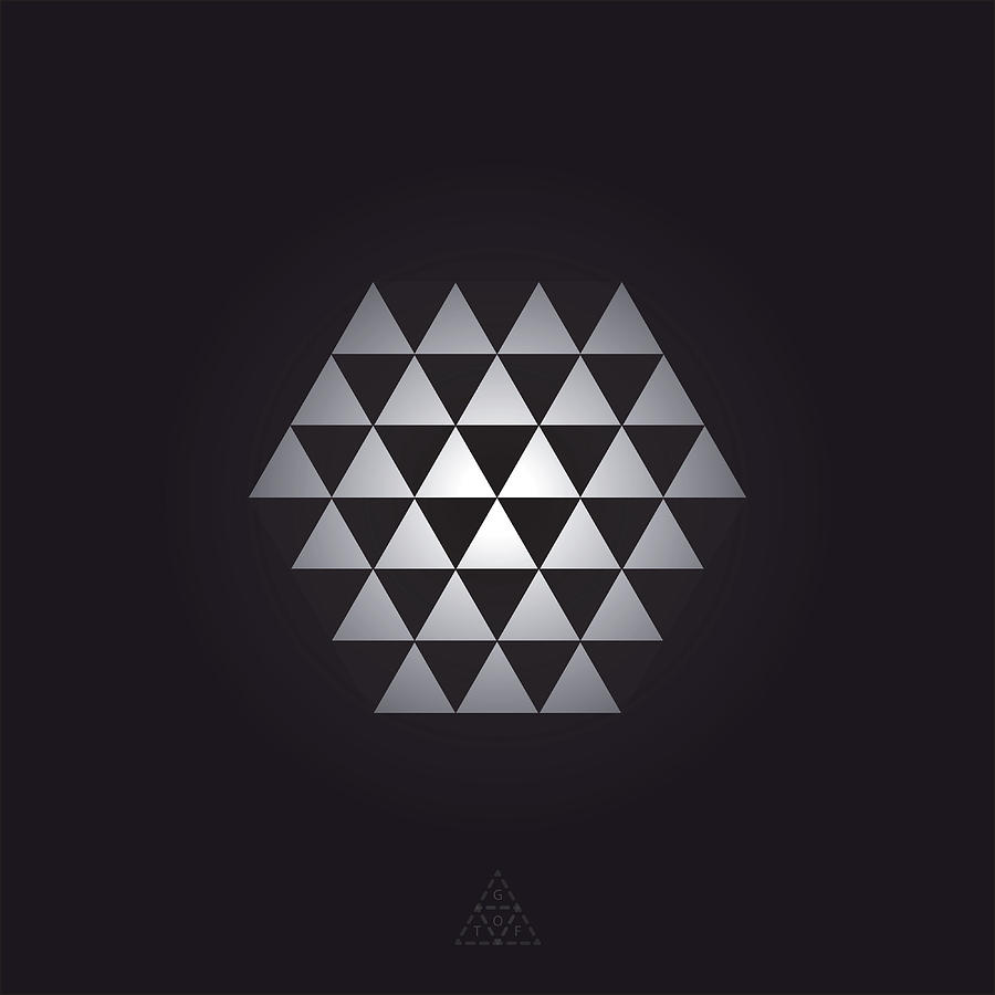 Hexagon Digital Art - Hexagon Optic V12.1 by Guardians of the Future