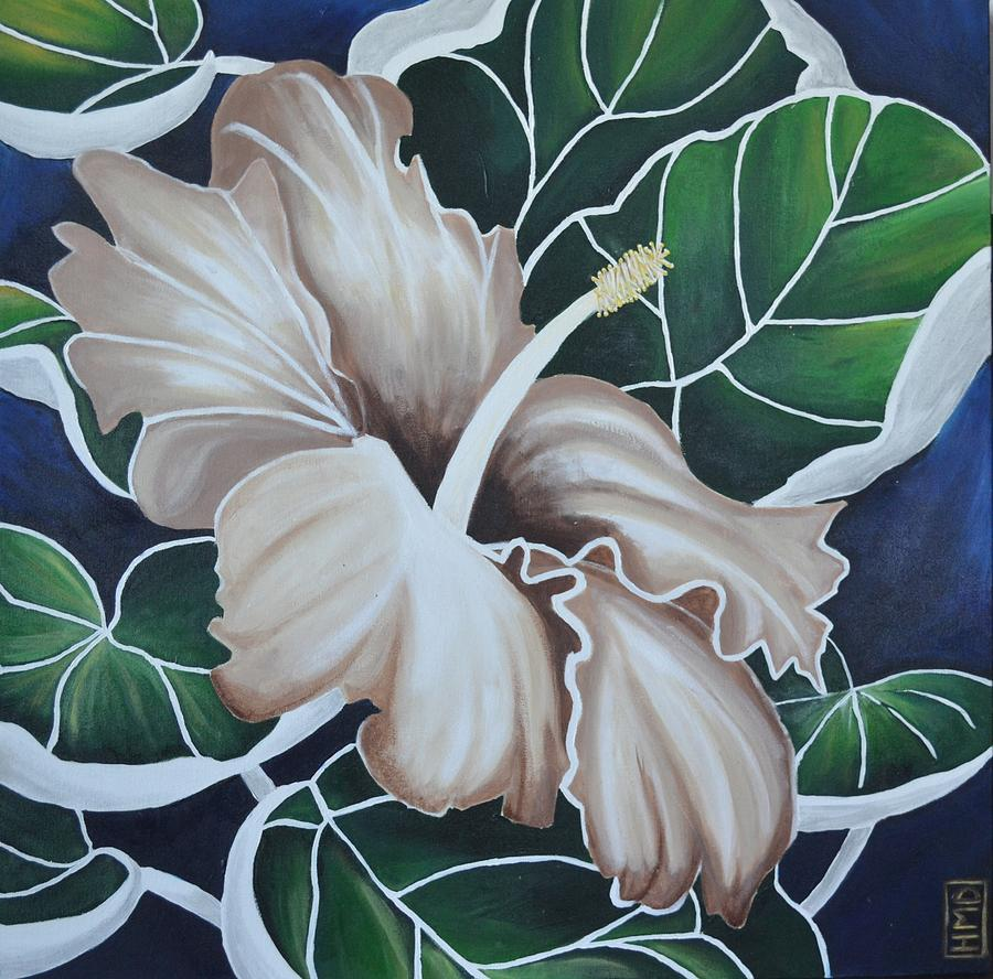 Hibiscus Painting - Hibiscus by Holly Donohoe