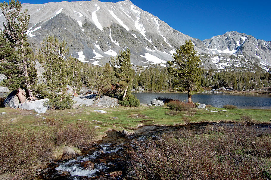 Mountains Photograph - Hidden Lake by Kirk Williams