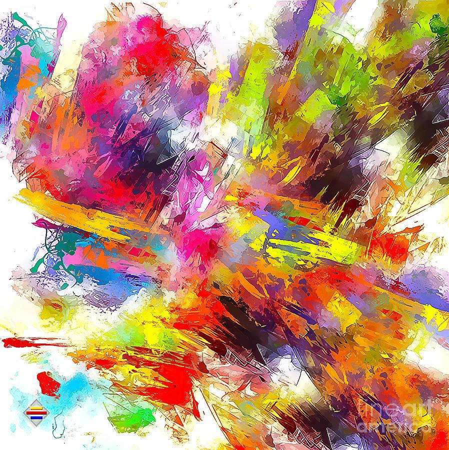 Digital Painting Digital Art - Hidden River by Vidka Art