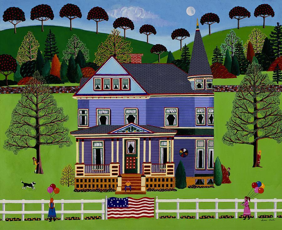 Landscape Painting - Hide And Seek by Susan Henke