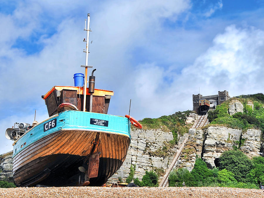 Trawler Photograph - High And Dry by Graham Taylor