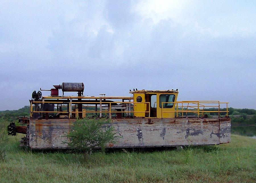 Barge Photograph - High And Dry by Rodney Mumford