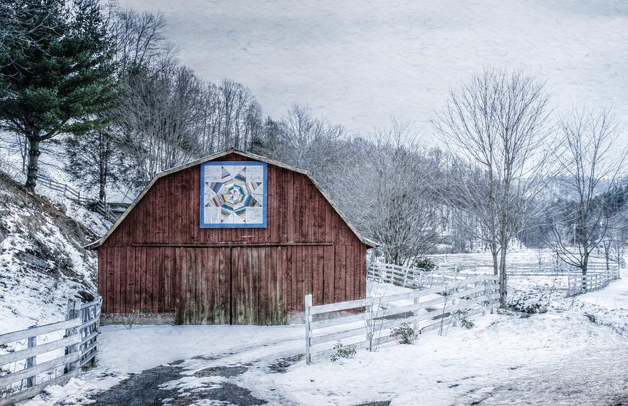 Barn Photograph - High Country Style by Christine Annas