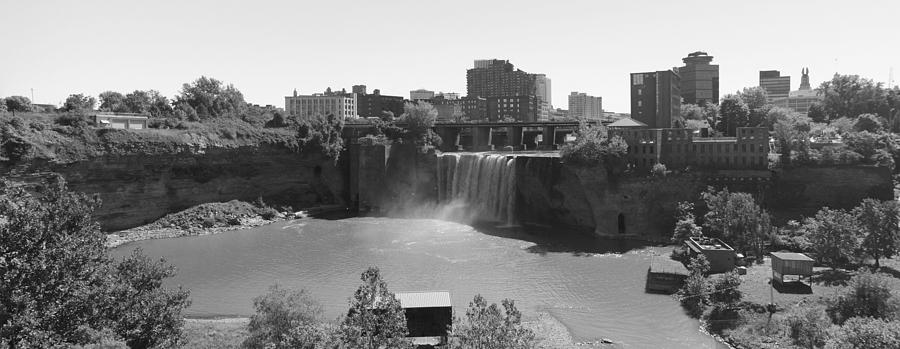 Waterfall Photograph - High Falls In Rochester New York by Matthew Green