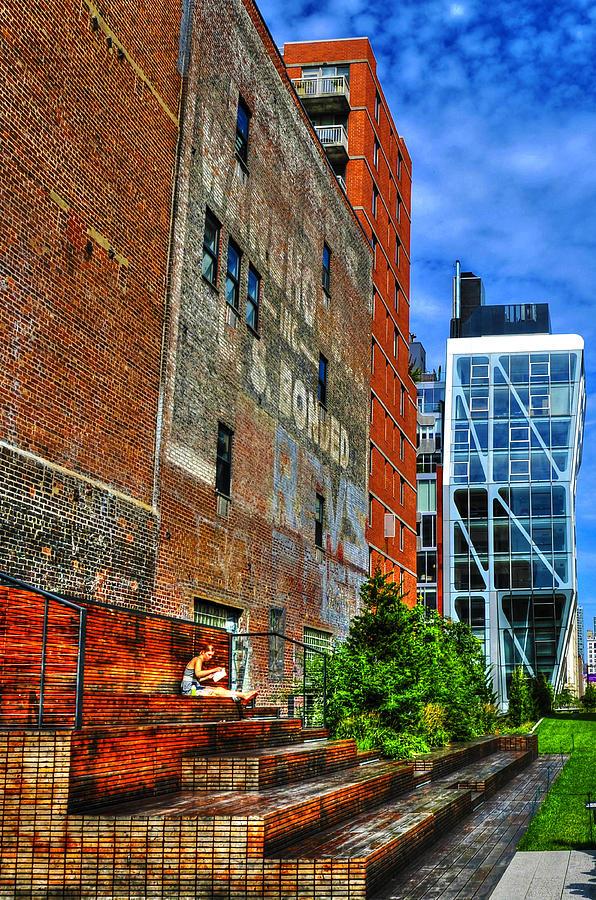 High Line Park Photograph - High Line Park Scene by Randy Aveille