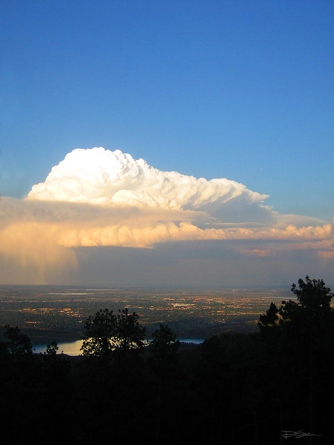 Thunderhead Photograph - High Plains Thunder by Ric Soulen