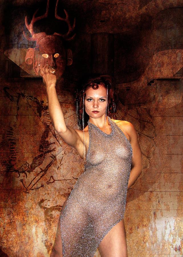 Pagan Nude Photograph - High Priest 3737 by Sandy Viktor Nys
