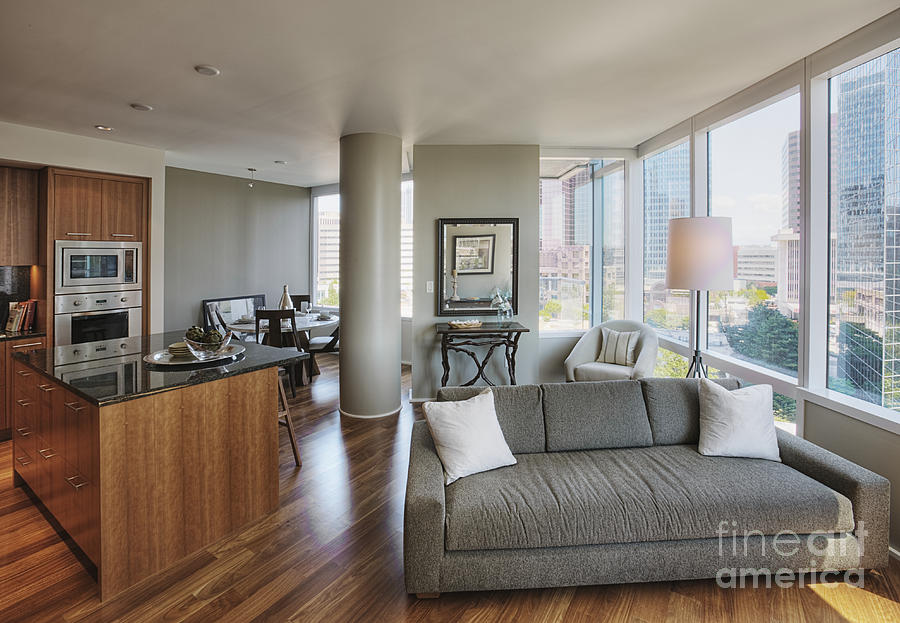 High Rise Condo Interior Photograph By Andersen Ross