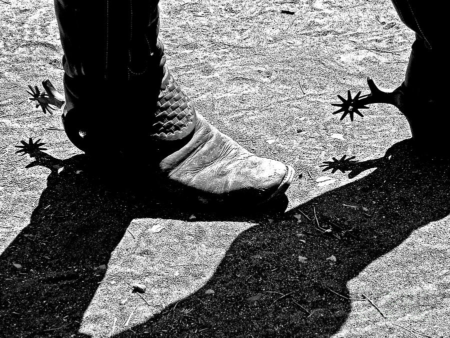 Boots Photograph - High Two Thirty Seven by Joe Jake Pratt