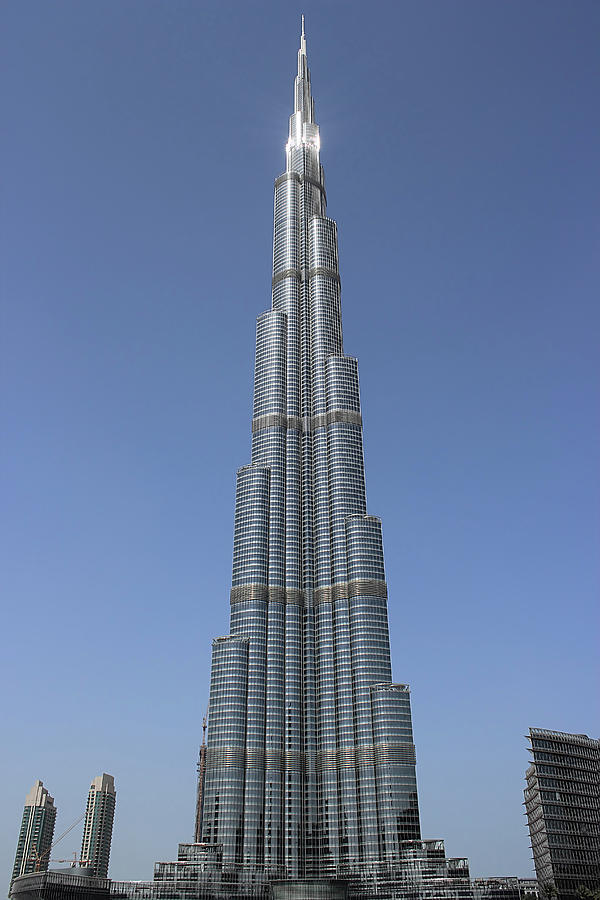 Hight Photograph - Highest Building In The World by Radoslav Nedelchev