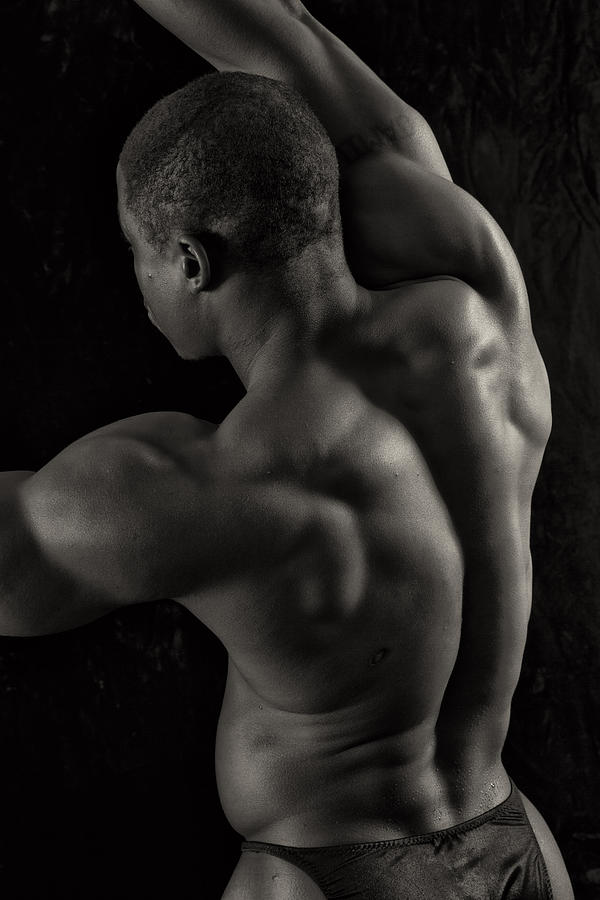 Bodybuilder Photograph - Hills And Valleys by Thomas Mitchell