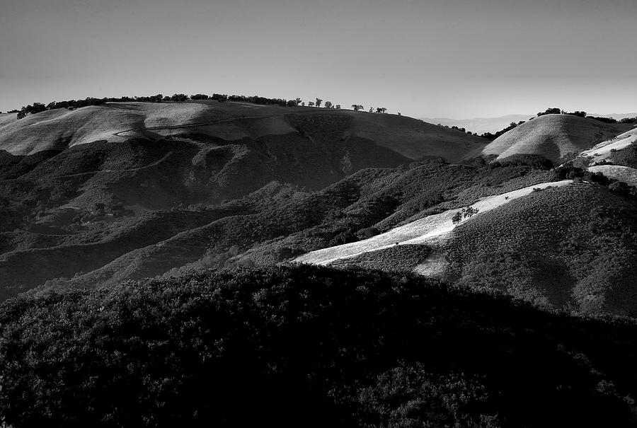 California Photograph - Hills Of Light And Darkness II by Steven Ainsworth