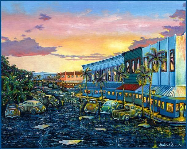 Big Island Painting - Hilo After The Rain by Deborah Beaver
